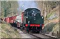 SE0338 : Goods train approaching Oakworth by Chris Allen