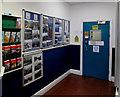 SS9398 : Inside Treherbert station waiting room by Jaggery
