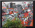 TQ3183 : Mosaic beside Regent's Canal by Ian Taylor