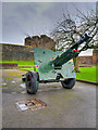 NY3956 : Big Gun at Carlisle Castle by David Dixon