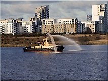 NT2677 : Tugboat Fidra at Leith's Western Harbour by David Dixon