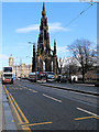 NT2573 : Princes Street and the Scott Monument by David Dixon