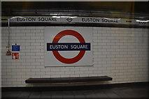 TQ2982 : Euston Square Underground Station by N Chadwick