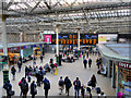 NT2573 : Concourse, Edinburgh Waverley Station by David Dixon