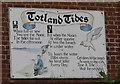 SZ3286 : The Totland Tide poem by Jacqueline Barber