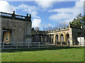 SJ8640 : Trentham Gardens: remains of the grand entrance by Stephen Craven