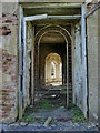 SJ8640 : Trentham Gardens: remains of the grand entrance - detail by Stephen Craven