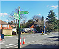 TQ4173 : Green Chain Signpost, Mottingham Lane by Des Blenkinsopp