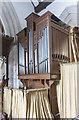 TF0811 : Organ, St Thomas à Becket church, Greatford by Julian P Guffogg