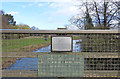 TF2158 : Memorial on Butts Bridge over the River Bain by Adrian S Pye