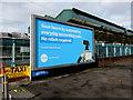 ST3088 : Xero advert, Queensway, Newport by Jaggery