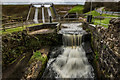 SJ9252 : Overflow and Stanley Dam (overflowing) by Brian Deegan