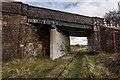 SJ9353 : Bridge OB19 Stoke To Leek Line (Disused), Endon bank by Brian Deegan