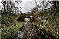 SJ9553 : Caldon Canal Crossing The Disused Leek Line by Brian Deegan