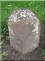 NZ3116 : Old Milepost by the A1150 in Great Burdon by Mike Rayner