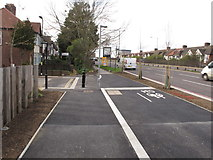 TQ2081 : West end of cycle route C34, North Acton by David Hawgood