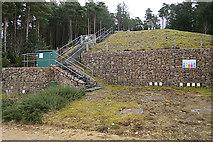 NJ4548 : Reservoir on Meikle Balloch by Anne Burgess