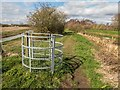 SK9572 : A useless kissing gate, Lincoln by Oliver Mills