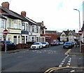 ST3188 : Harrow Road No Entry signs, Newport by Jaggery