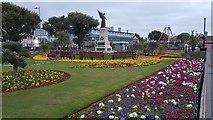 TM1714 : Clacton-on-Sea: The Memorial Garden by Nigel Cox