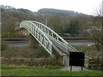 SE1039 : Footbridge over the A650 by Chris Allen