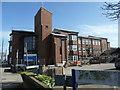 SD3348 : Fleetwood Hospital, off Bold Street by Christine Johnstone