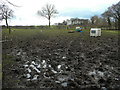 SE2907 : Muddy footpath, Cawthorne by Humphrey Bolton