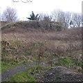 NT2673 : Site of flats, St Leonard's Hill by Richard Webb