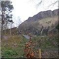 NT2673 : The Skelf bike park, Heriot Mount by Richard Webb