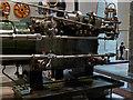 NT2573 : National Museum of Scotland Corliss engine valve gear by Chris Allen
