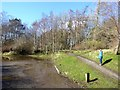 NY6860 : Car Park for the South Tyne Trail by Oliver Dixon