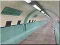 NZ3265 : Tyne Cyclist and Pedestrian Tunnel: Subterranean County Boundary by Anthony Foster