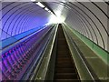 NZ3266 : Tyne Cyclist and Pedestrian Tunnel: Northern Escalator Shaft by Anthony Foster