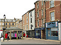 NY9364 : Hexham marketplace by Stephen Craven