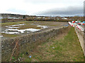 NY9364 : Vacant site north of the railway, west of Hexham station by Stephen Craven