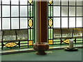 NY8464 : Haydon Bridge Methodist Church - stained glass detail (2) by Stephen Craven