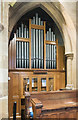 TF0544 : Organ, St Botolph's church, Quarrington by Julian P Guffogg