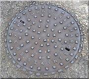 TQ0471 : Johnson & Sharp Manhole by Sean Davis