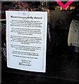 ST3090 : We are temporarily closed, Barnardo's, Malpas Road, Newport by Jaggery
