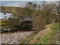 SD9278 : River Wharfe, Hubberholme Bridge by David Dixon