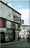 SJ6552 : Regent House, High Street, Nantwich, 1963 by Alan Murray-Rust