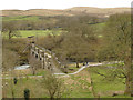 SE0556 : Nidd aqueduct over the river Wharfe by Stephen Craven