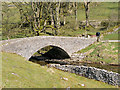 SD9079 : Yockenthwaite Farm Bridge by David Dixon