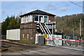 SO4489 : Marsh Brook Signal Box near Church Stretton by Colin Cheesman