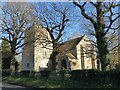 TQ5246 : St Luke's Church at Chiddingstone Causeway, Kent by John P Reeves