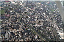 TF3244 : Boston town centre and Boston Stump: aerial 2020 (1) by Chris