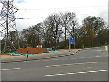SE2534 : Cable laying on Armley Ridge Road (3) by Stephen Craven
