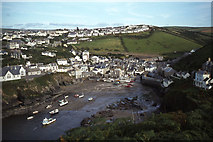SW9980 : Late afternoon, The Haven, Port Isaac by Colin Park