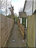 TQ2160 : Cottages off College Road by Hugh Craddock
