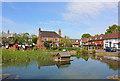 TQ5259 : Otford Village Pond by Wayland Smith